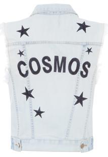 Colete Feminino Cosmo - Azul
