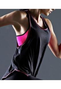 Camiseta 500 Regata Nadador Liz Sport (32500) 100% Algodão