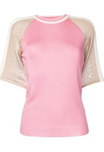 Drome Blusa De Tricô Flamingo - Rosa