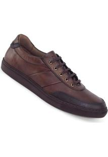 Sapatênis Meu Sapato Jogging Masculino - Masculino-Marrom