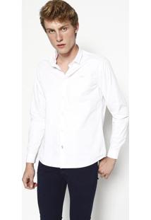 "Camisa Slim Fit ""Ckjâ®"" - Brancacalvin Klein"