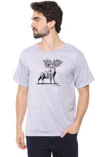 Camiseta Eco Canyon Cervo Cinza
