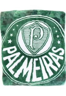 Cobertor Palmeiras Avanti Palestra Solteiro - Unissex