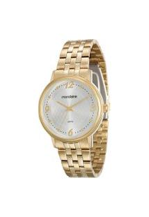 Relógio Analógico Mondaine Feminino - 83324Lpmvde1 Dourado