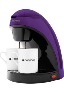 Cafeteira Elétrica Cadence Single Colors Roxa - 220V