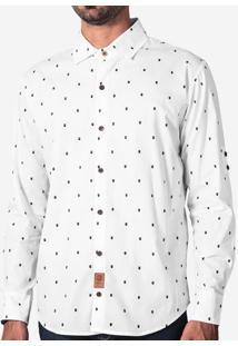Camisa Bigotes Branca 200097