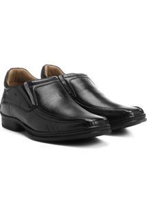 Sapato Conforto Couro Rafarillo Soft Confort Alth - Masculino-Preto