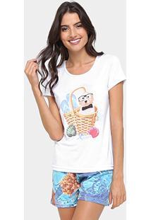 Pijama Curto Victory Beach Feminino - Feminino