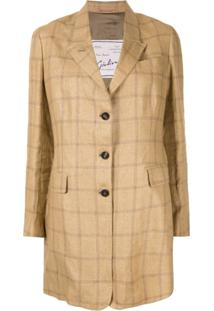 Giuliva Heritage Collection Blazer Xadrez The Karen - Marrom