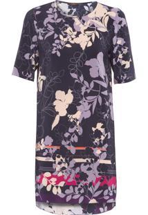 Vestido Floral Opuwo - Preto