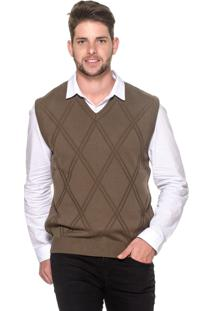 Colete Passion Tricot Lk Brown