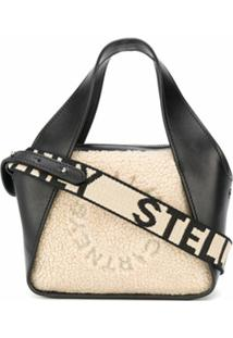 Stella Mccartney Logo Detail Crossbody Bag - Preto