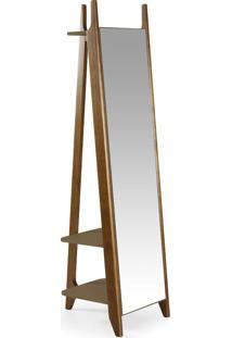 Espelho Stoka 169,5 Cm 988 Nogal/Marrom Médio - Maxima