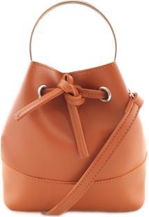 Bucket Bag Novidadinhas Lari Caramelo