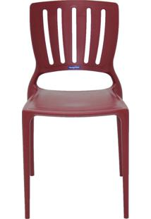 Cadeira Tramontina Sofia 92035/050 Marsala Se