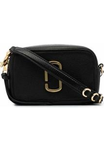Marc Jacobs Bolsa Transversal The Softshot - Preto