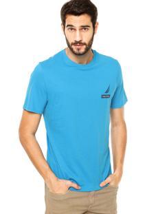 Camiseta Nautica Classic Fit 30 Azul