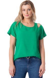 Blusa Feminina Lu Bella Verde - M