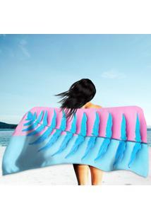 Toalha De Praia / Banho Tropical Fresh