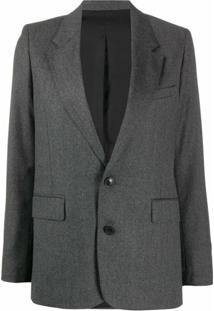 Ami Paris Blazer Clássico - Cinza