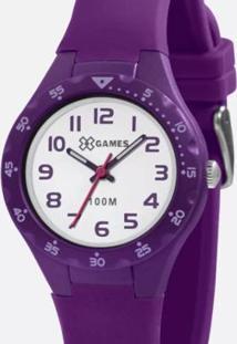 Relógio X Games Feminino - Feminino-Roxo