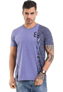 Camiseta Spliced Roxo Bgo