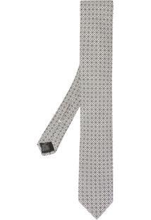 Dolce & Gabbana Gravata Estampada - Branco