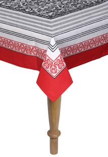 Toalha De Mesa Retangular Karsten Sempre Limpa Nolita 160X270Cm - Branco - Dafiti