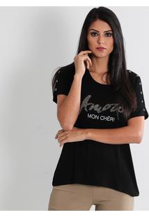 Camiseta Feminina Facinelli