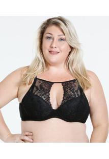 Sutiã Feminino High Neck Plus Size Marisa