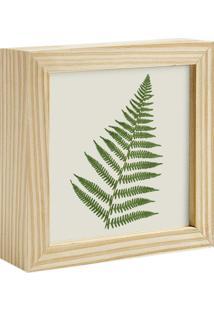 Quadro Decorativo Decohouse Moldura Art Verde