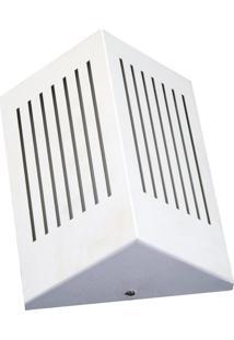 Arandela Triangular Com Rasgo Horizontal 6134 12X09X23 1 Lâmpada Branco Pantoja&Carmona