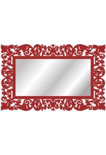 Espelho De Parede 15179V Vermelho 70X158 Art Shop