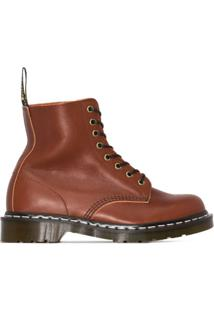 Dr. Martens Ankle Boot Pascal De Couro 1460 - Marrom