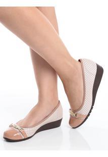 Sapato Anabela Moleca