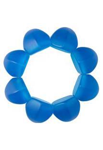Pulseira Feminina Hexágono - Azul