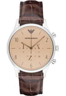... Relógio Emporio Armani Masculino - Ar1878 0Xn Ar1878 0Xn - Masculino- Prata 75031d67ae