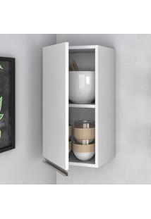 Armário Aereo Cozinha 1 Porta Bam32 Branco - Brv Móveis