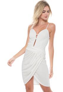 1e57cf4c1 Vestido Ana Hickmann Off White feminino | Shoelover