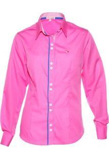 Camisa Pimenta Rosada Katerine - Feminino-Rosa