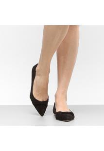 Sapatilha Couro Shoestock Bico Fino Feminina - Feminino