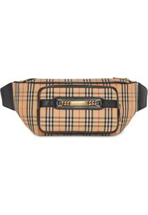 Burberry Bolsa 'The Large 1983 Check Link Bum' - Preto