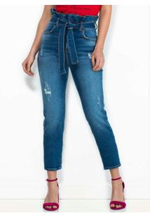 Calça Jeans Clochard Azul