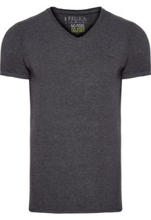Camiseta Masculina Rip Cassete - Cinza