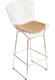Banqueta Bertoia- Cobre- 109X60X40Cm- Or Designor Design