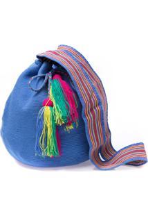 Bolsa Saco Sneak Peek Colombiana Azul
