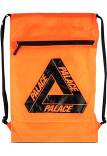 Palace Bolsa Bucket Com Zíper - Laranja