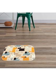 Tapete Decorativo Dog Lux ÚNico - Multicolorido - Dafiti