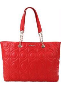 Bolsa Shopping Bag Ana Hickmann Vermelho