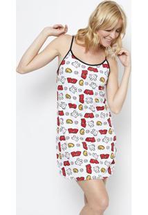 Camisola Mickey®- Branca & Vermelhaevanilda